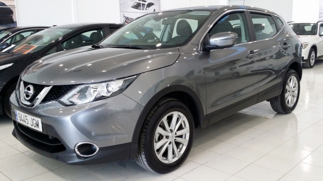 nissan qashqai 2015 ss acenta 4x2 5p diesel dark gray. Black Bedroom Furniture Sets. Home Design Ideas