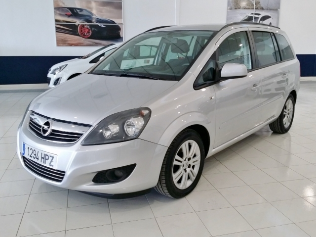 opel zafira 2013 1 7 cdti 125 cv family 5p diesel silver. Black Bedroom Furniture Sets. Home Design Ideas